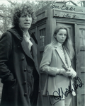 Tom Baker, Lalla Ward -  Multi signed original autograph not a copy 10276